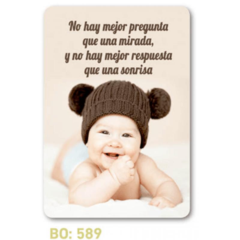 calendario de bolsillo bebé sonriente