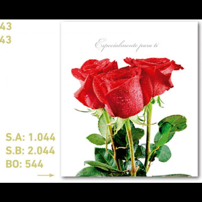 CALENDARIO PUBLICIDAD ROSAS ROJAS