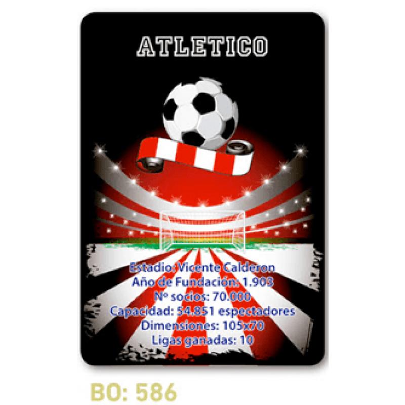 calendario de bolsillo futbol atletico