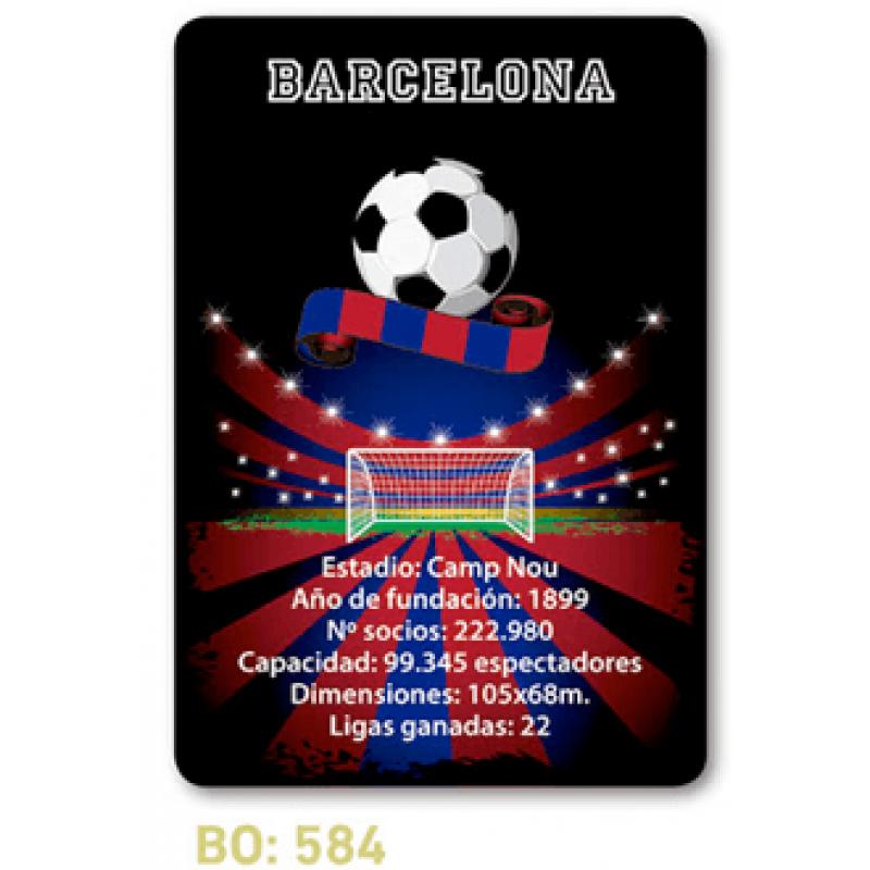 calendario de bolsillo futbol barcelona