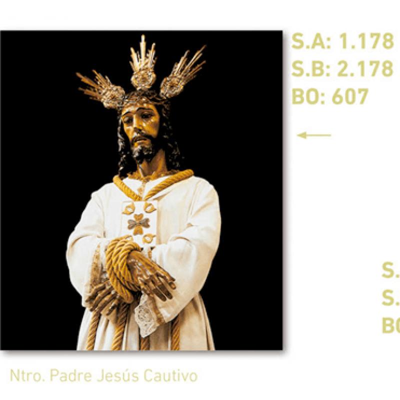 calendario jesús cautivo