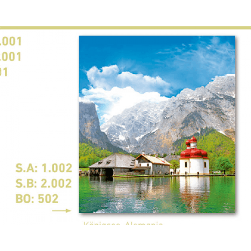 CALENDARIO PAISAJE ALEMANIA