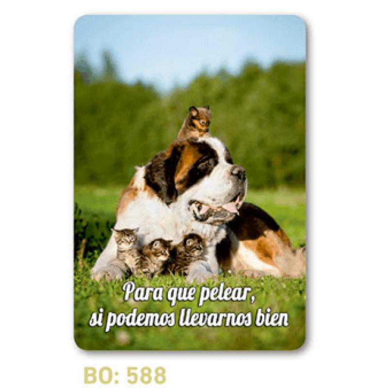 calendario bolsillo perro y gatos