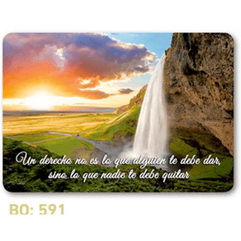 calendario de bolsillo frase celebre