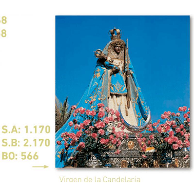 calendario virgen de la candelaria