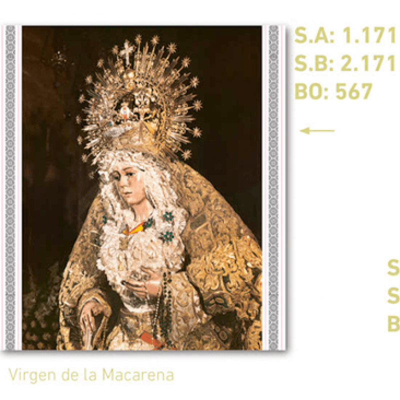 calendario virgen de la macarena