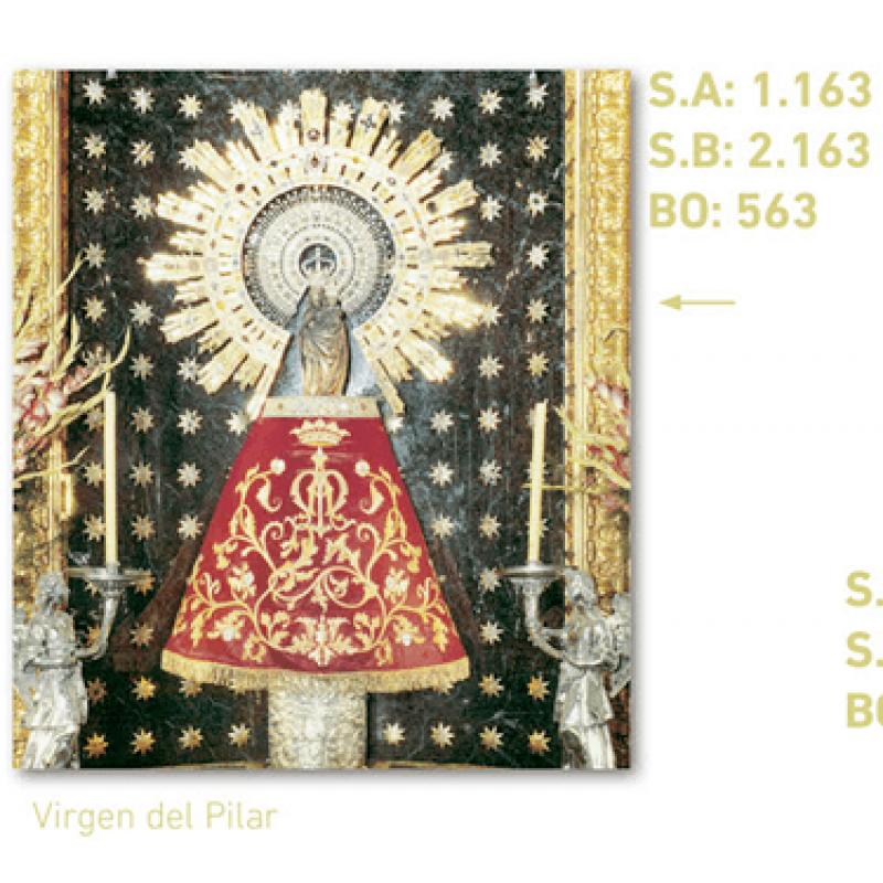 calendario virgen del pilar