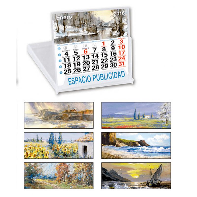 calendario sobremesa CD Arte