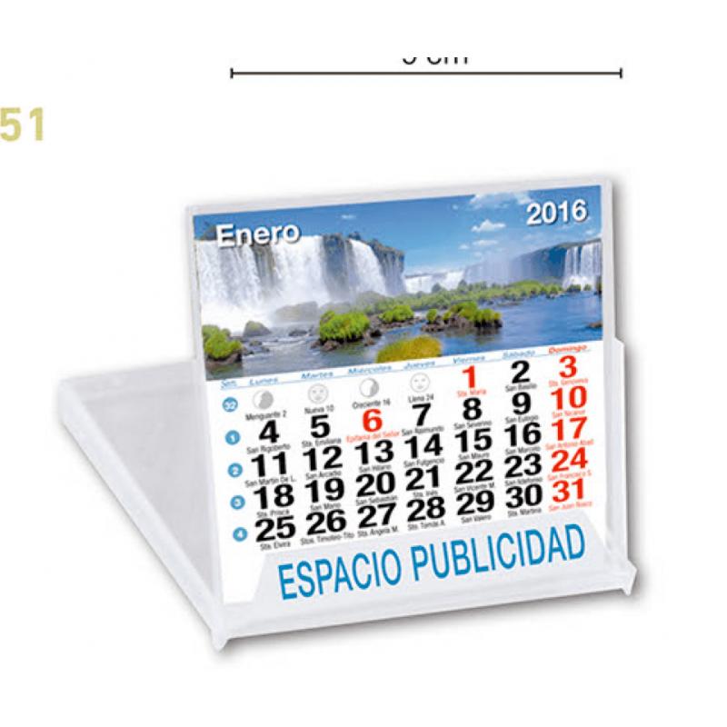 calendario sobremesa CD paisajes internacionales