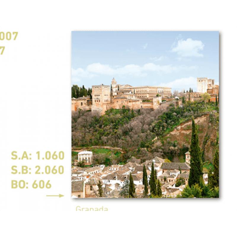 calendario de bolsillo foto alhambra de granada