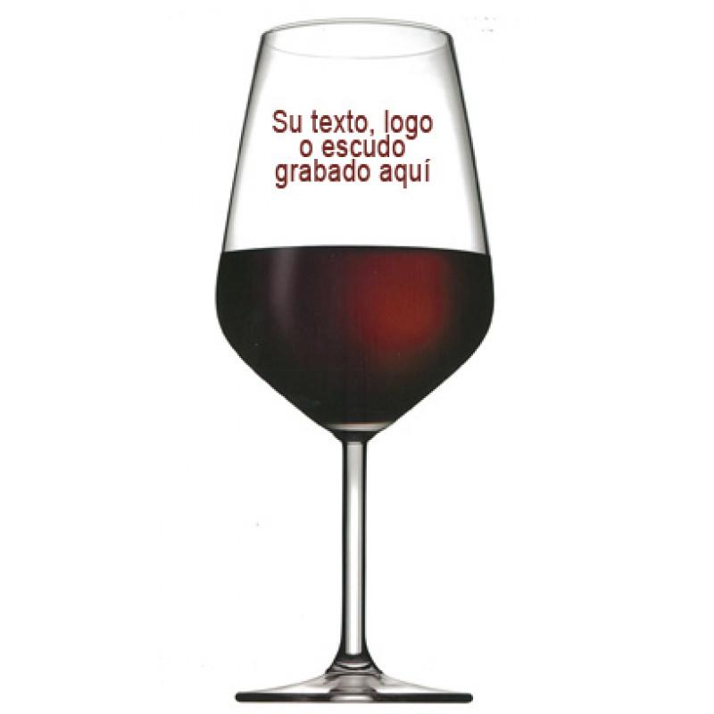copa catavinos serigrafiada con su logo