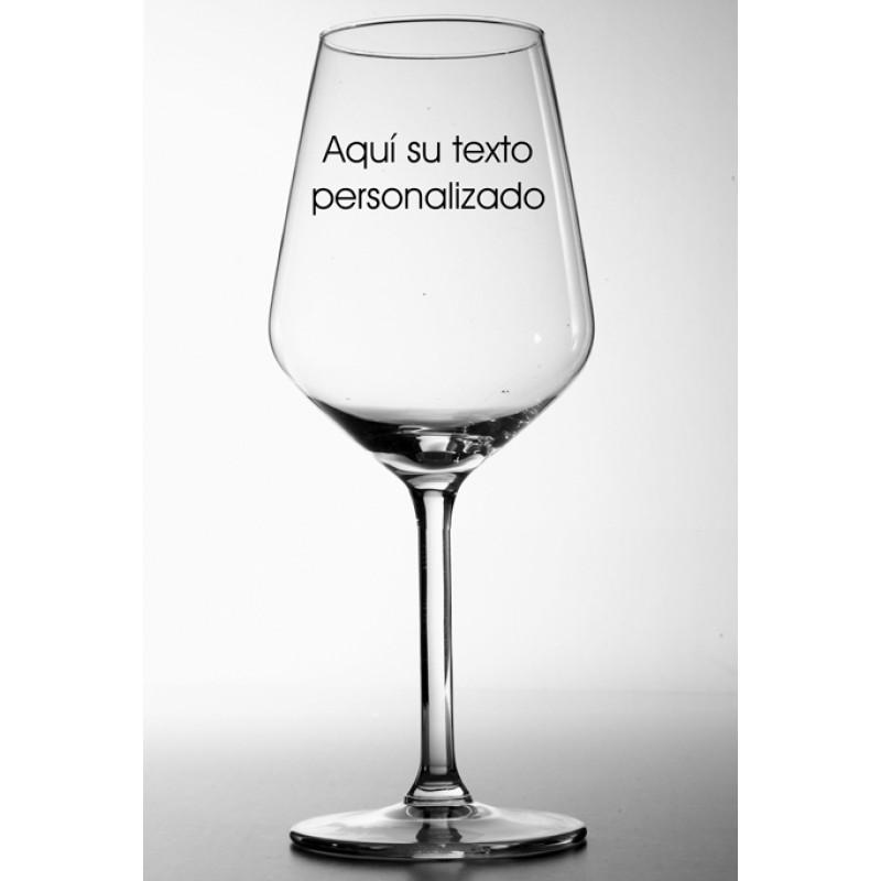 copa degustación vinos serigrafiada