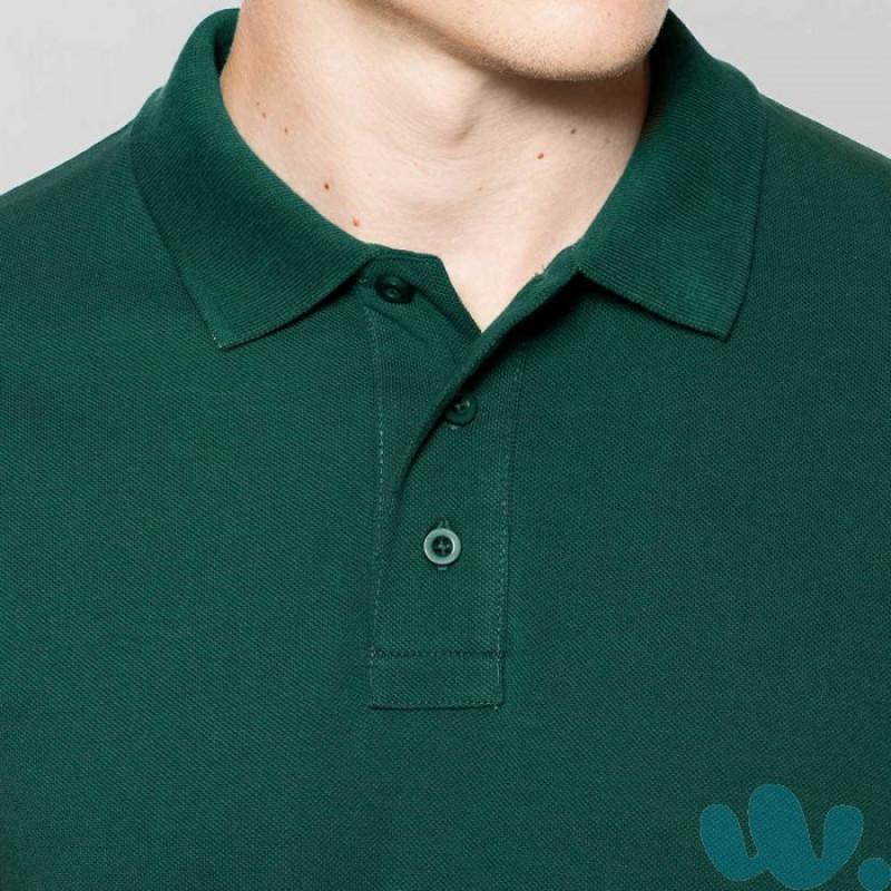 cuello polo publicidad 220 grs.verde