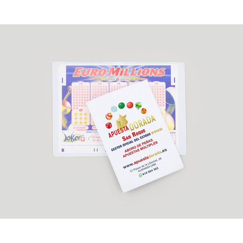 Funda PVC loterias doble personalizada todo color