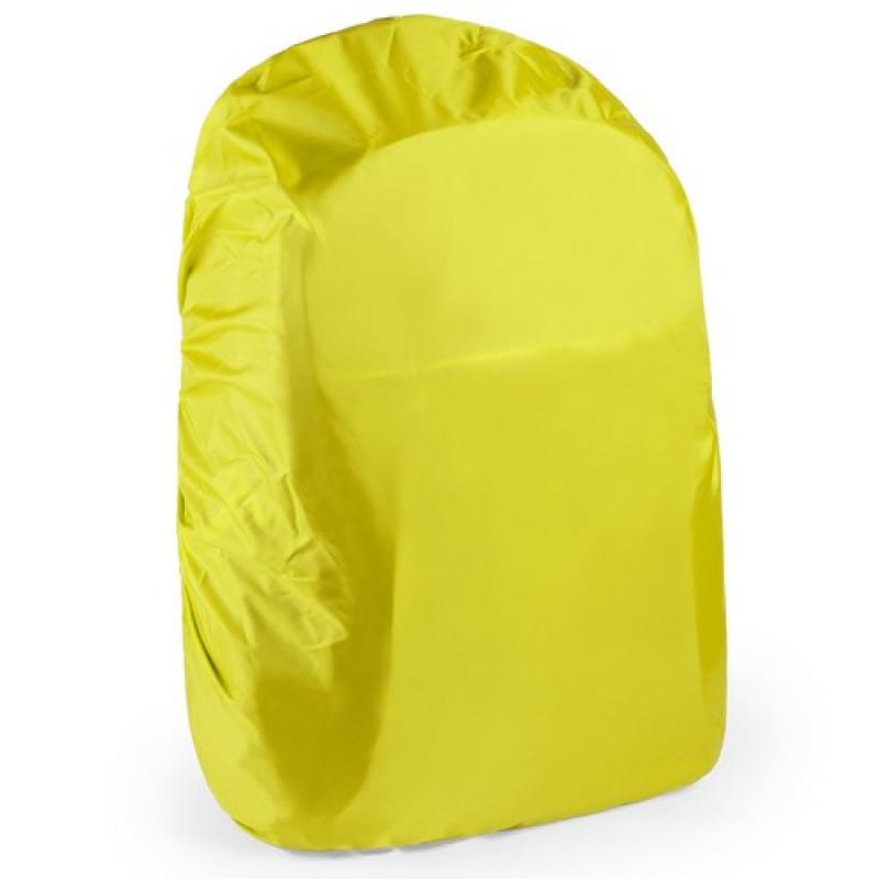 Funda mochila impermeable amarilla
