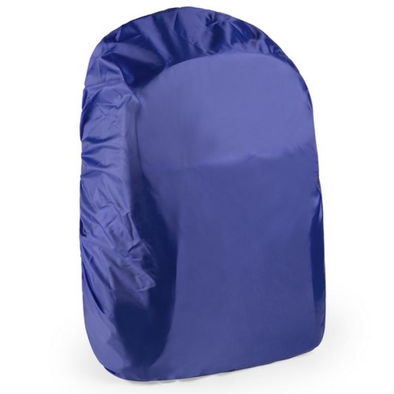 Funda mochila impermeable azul