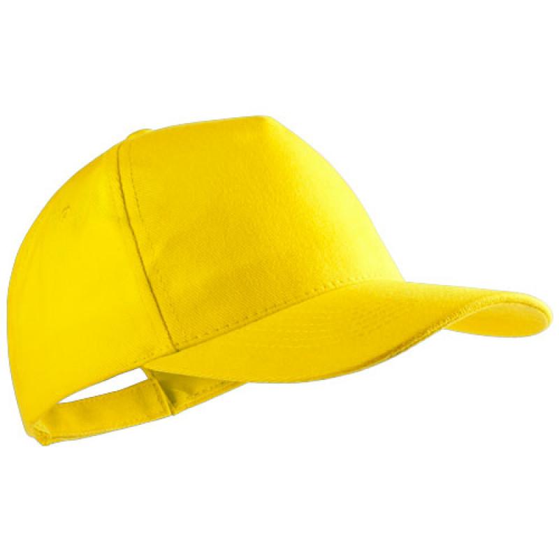 gorra publicitaria algodon peinado amarilla