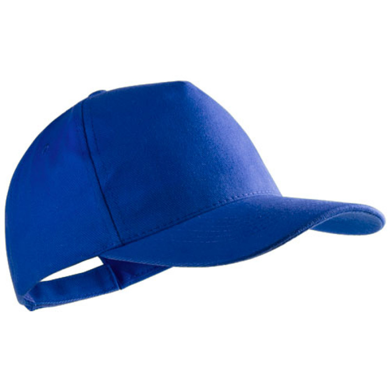 gorra publicitaria algodon peinado azul