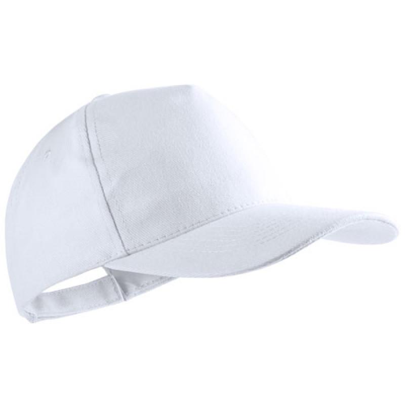 gorra publicitaria algodon peinado blanca