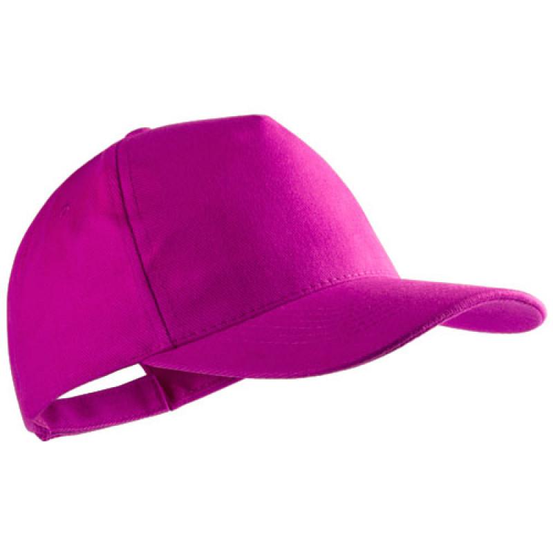 gorra publicitaria algodon peinado fucsia