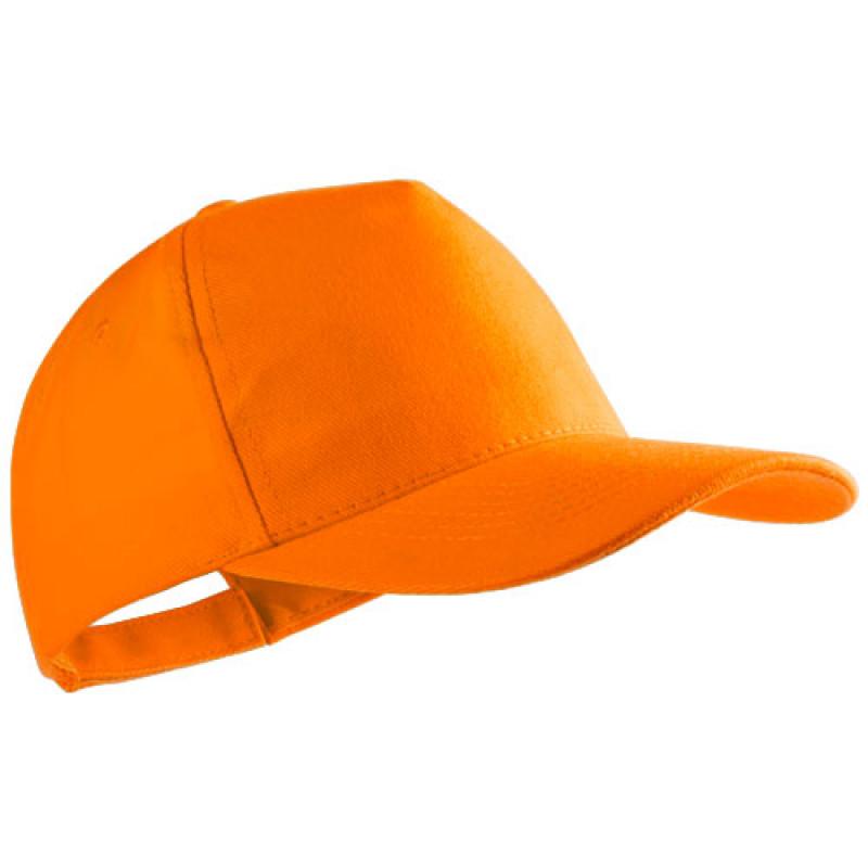 gorra publicitaria algodon peinado naranja