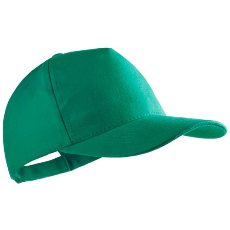 gorra publicitaria algodon peinado verde