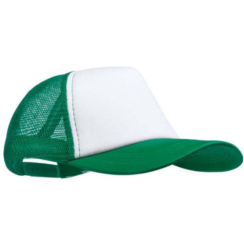 gorra publicitaria rejilla verde