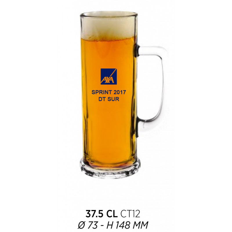 jarra de cerveza serigrafiada