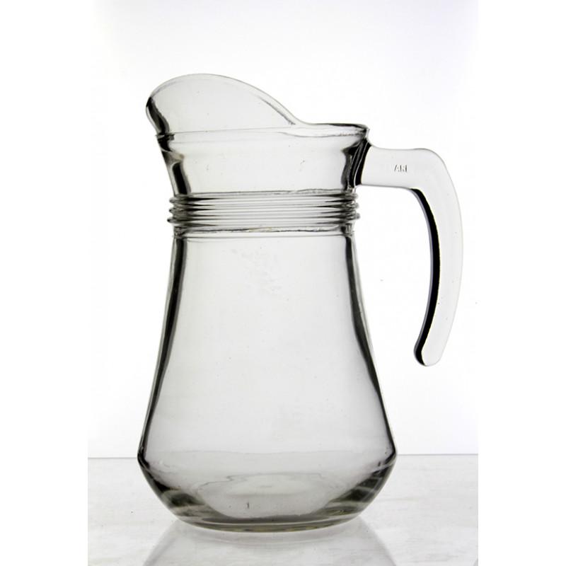 jarra cristal agua personalizable conica 1 Litro