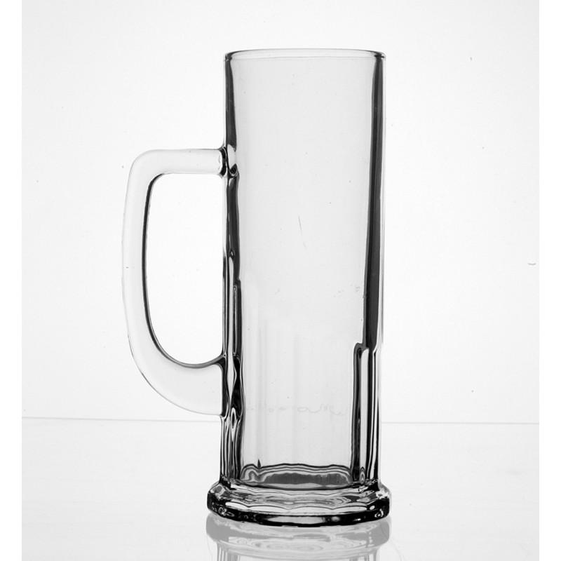 Jarra cerveza de cristal personalizable