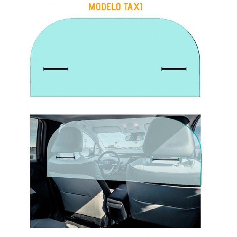 Mampara Anticontagio Taxi