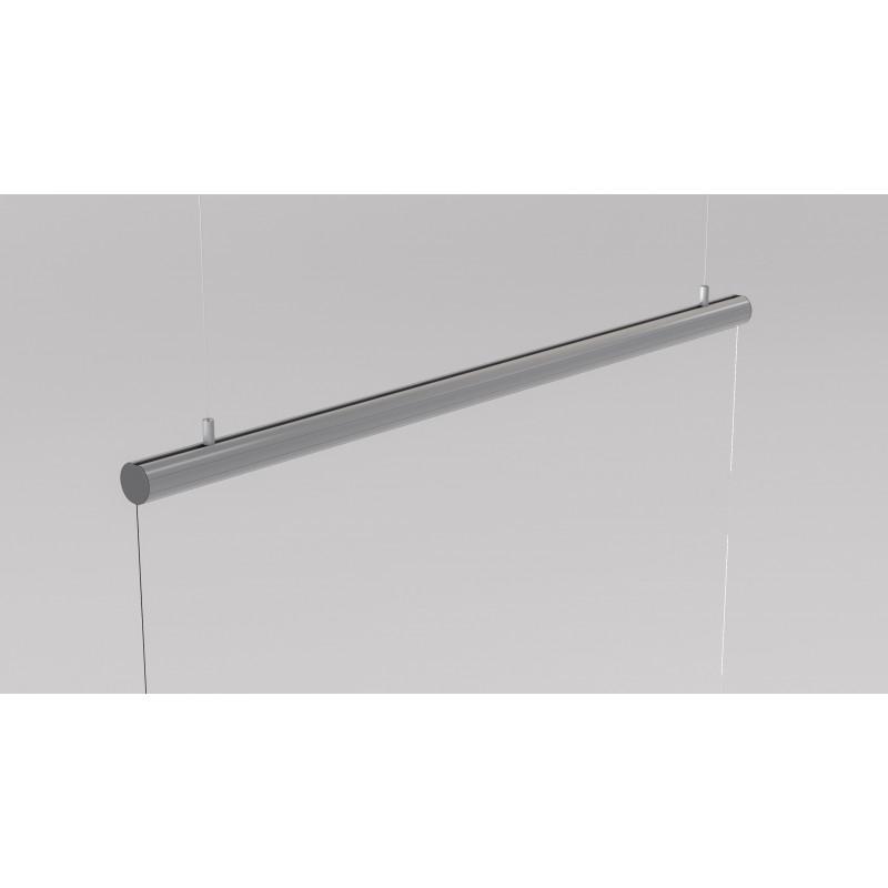mampara colgante de aluminio suspendida del techo