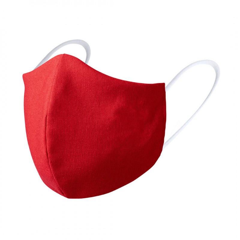 mascarilla higiénica reutilizable personalizada roja