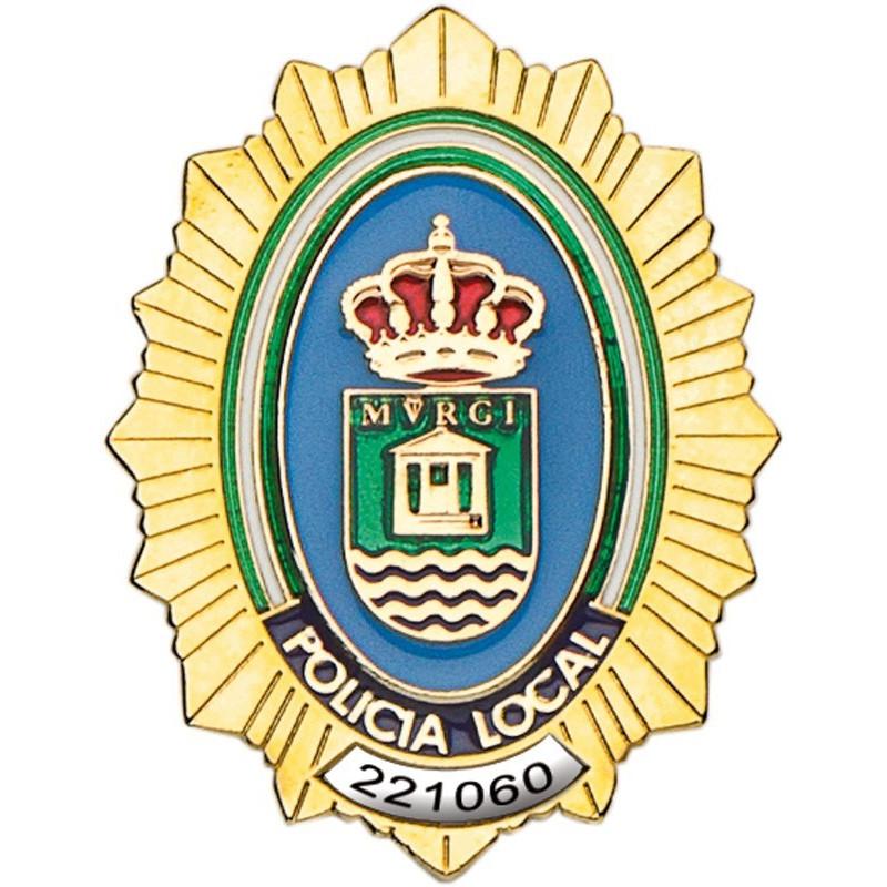 Placa Policia Local