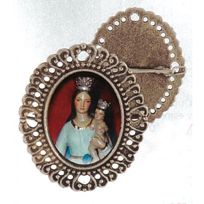 Medalla semana santa con alfiler al dorso