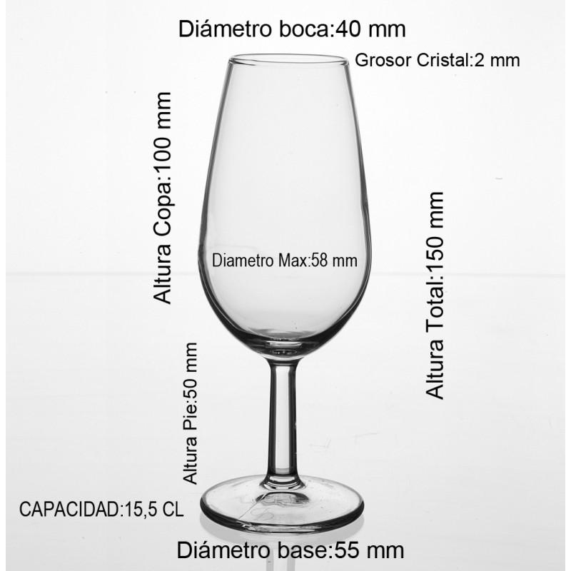 Medidas copa catavinos 15 CL