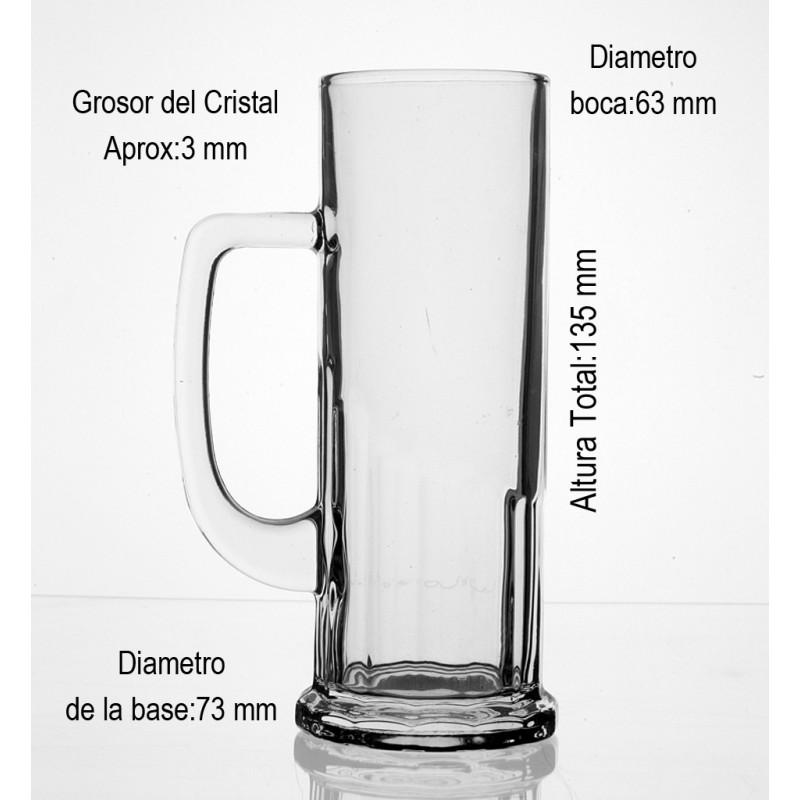 Medidas Jarra Cerveza 37,5 CL