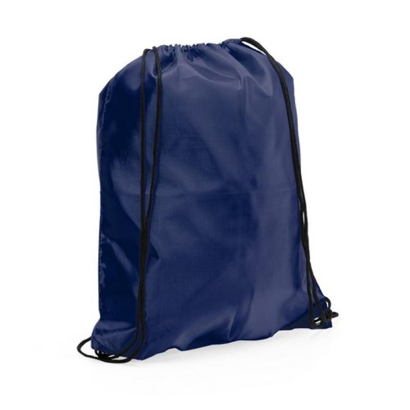 mochila poliester para publicidad color marino