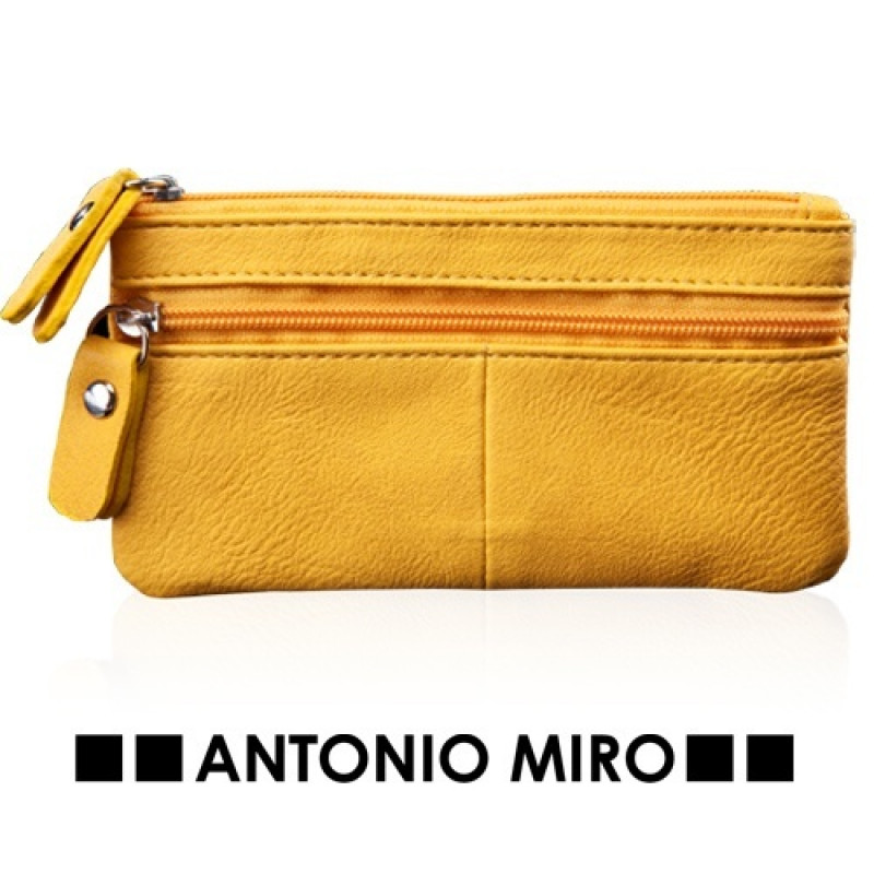 monedero ferni amarillomarca Antonio Miro