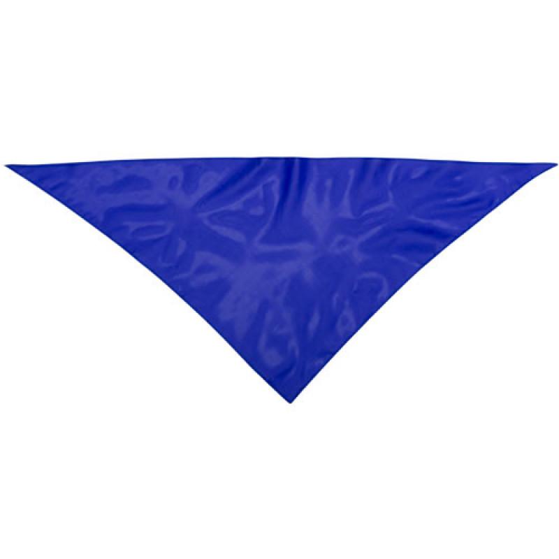 Pañoleta publicitaria para eventos azul