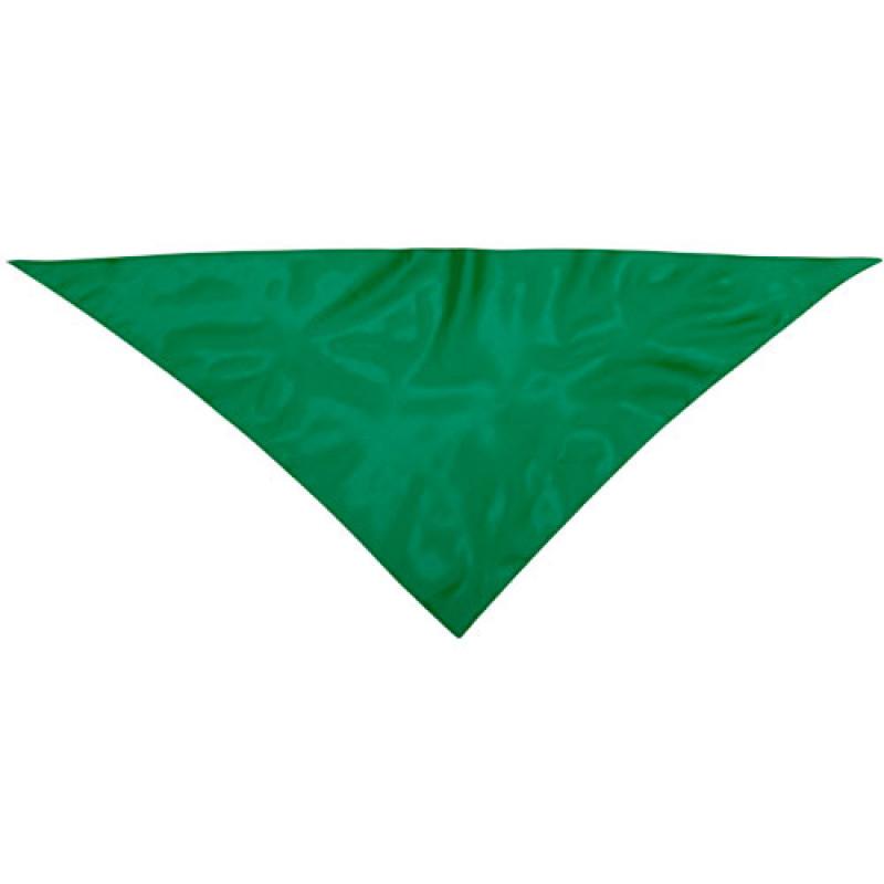 Pañoleta publicitaria para eventos verde