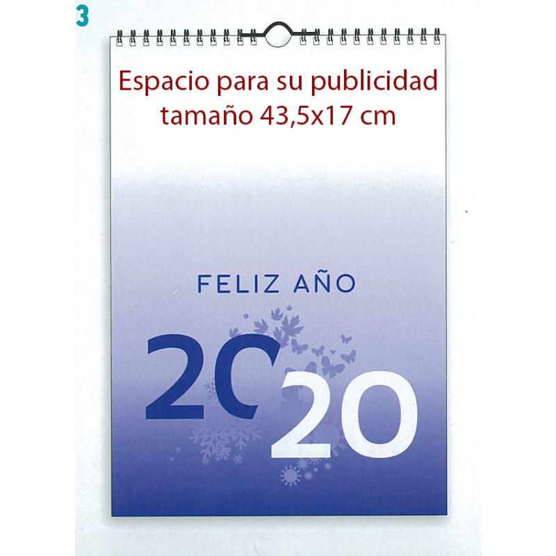 Portada de calendario extragrande 43x63 cm