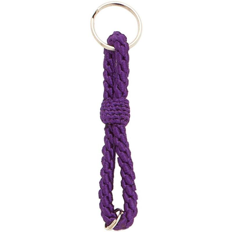 Llavero cordón de 15 cms con 3 hilos de seda.
