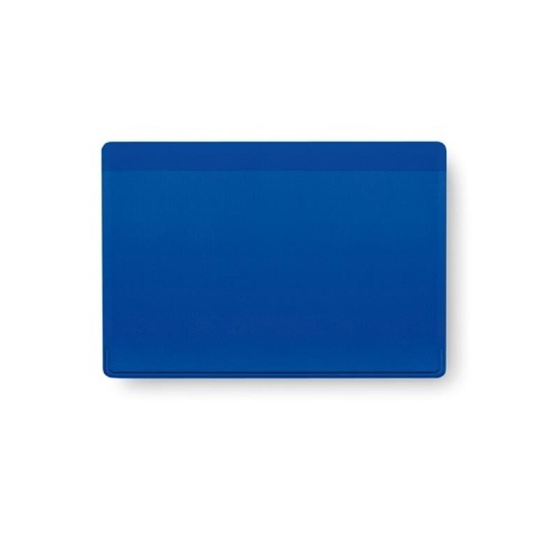 tarjetero PVC kazak  azul