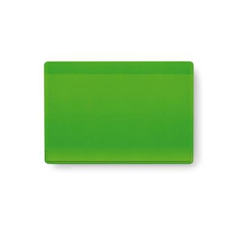 tarjetero PVC kazak  verde