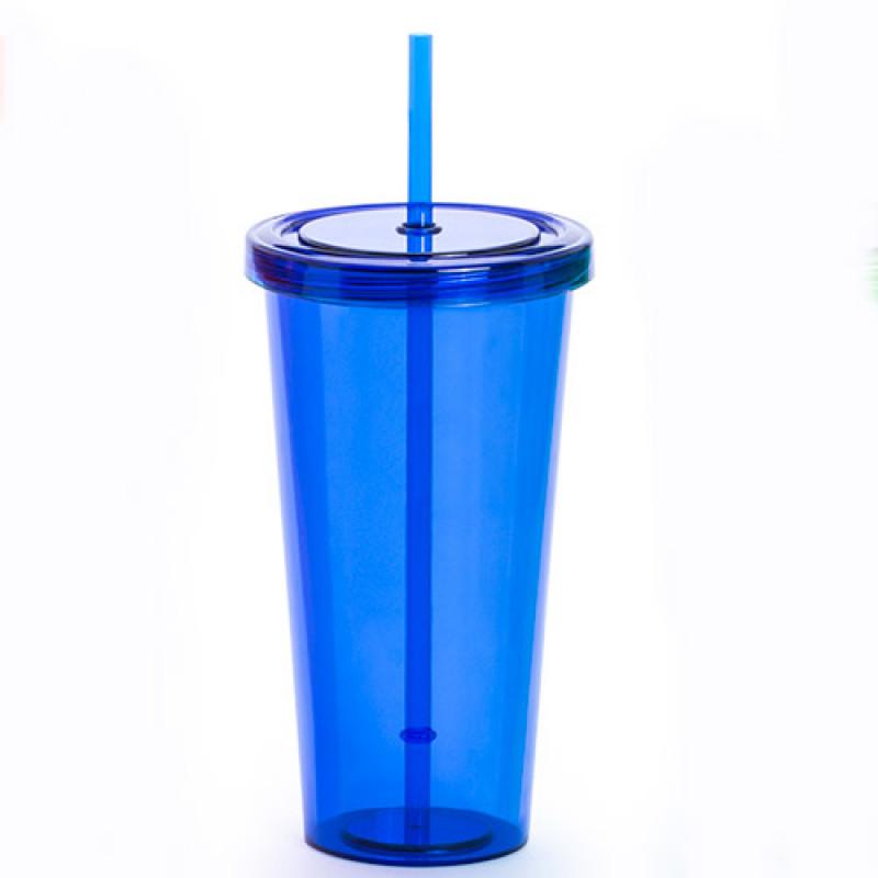 vaso publicitario trinox azul