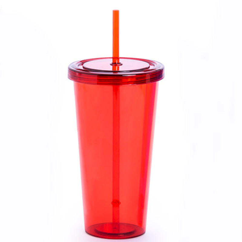 vaso publicitario trinox rojo