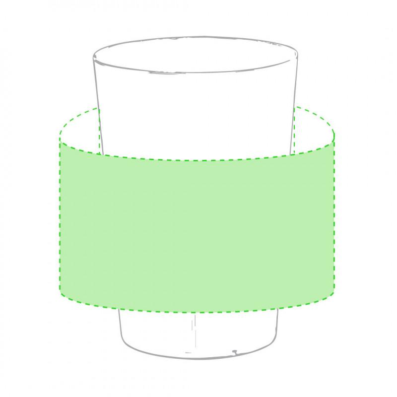 vaso de plástico personalizdo con su publicidad