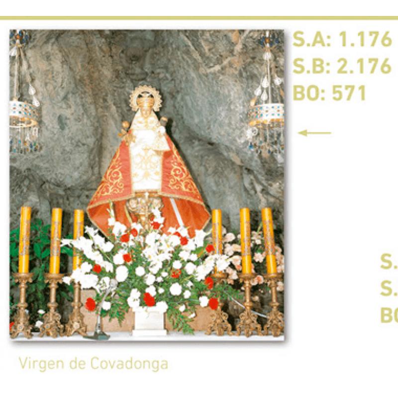 calendario virgen de covadonga