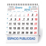 Calendario Sobremesa mensual 16x17 cm